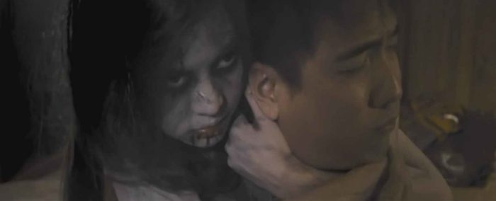 """Супружеская пара из тайского фильма ужасов """"Она дьявол"""" 2014 года"""