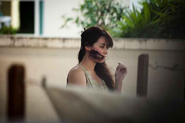 """Призрак из тайского фильма ужасов """"Ладдалэнд"""""""