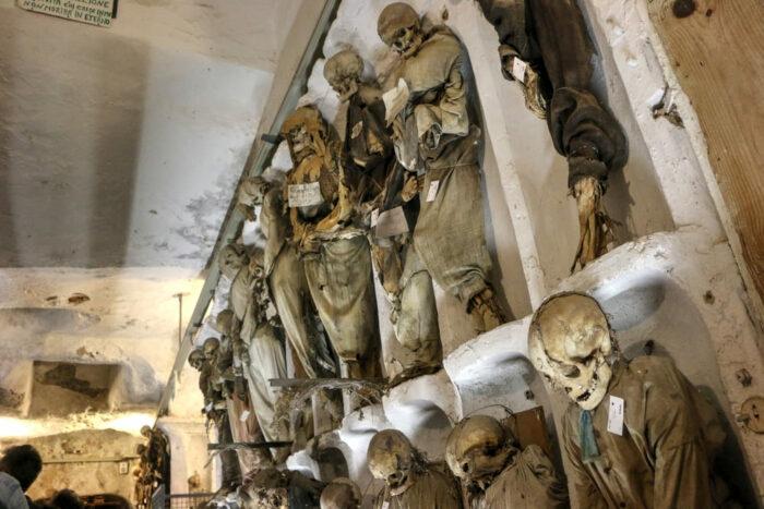 Италия, Палермо, катакомбы капуцинов, самые страшные места на Земле